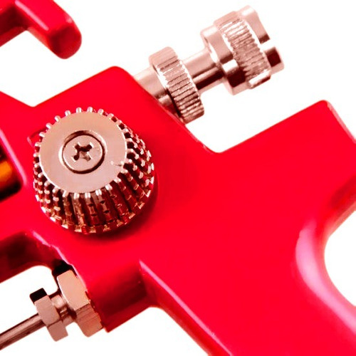 pistola de pintura hvlp bico 1,4 mm 600ml h-827 pro line