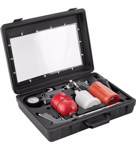 pistola de pintura kit worker com 5 peças preço de custo