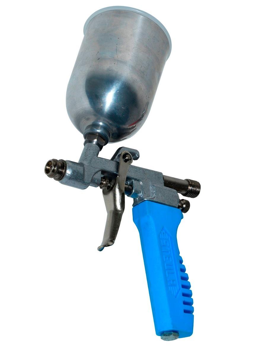 Pistola de pintura para compressor de ar direto bico 0 7mm - Pistola pintura compresor ...