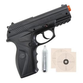 Pistola De Pressão Esferas De Aço 6mm Co2 C11 Rossi 328 Fps