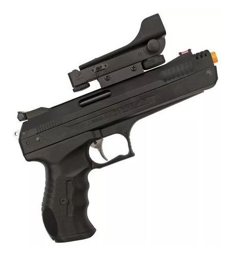 pistola de pressão beeman 2006 5.5 com red dot + chumbinho