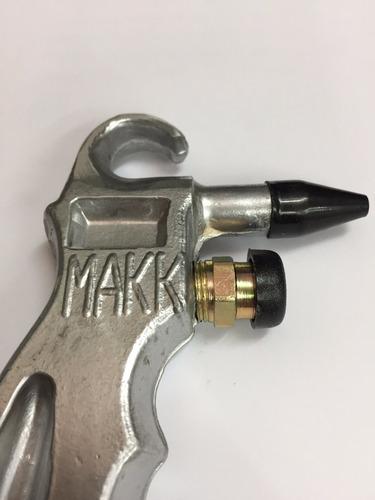 pistola de sopleteo aire camion colectivo neumatica aluminio
