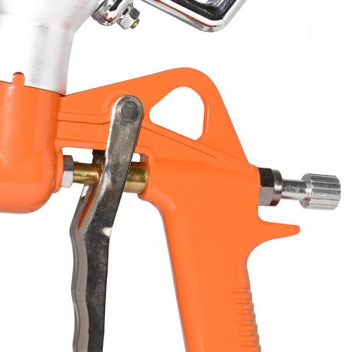pistola de textura projetada chapisco 3 bicos funil 5 litros