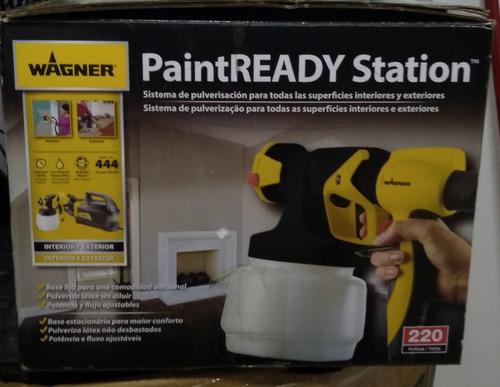 pistola de tinta (paint ready station