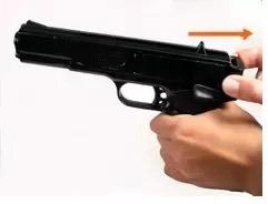 pistola deportiva marksman + munición calibre 4.5