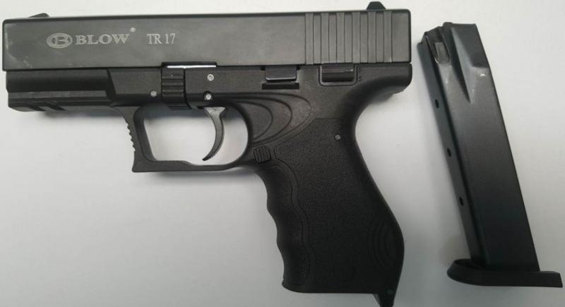 Pistola Detonadora Blow Glock 17 Calibre 9mm Full Automatica