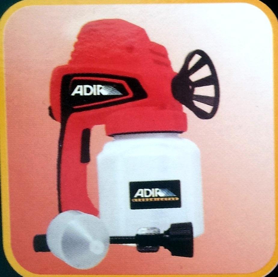 Pistola el ctrica para pintura marca adir sistema airles - Pintar con pistola electrica ...