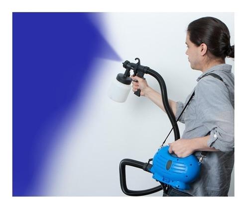 pistola elétrica pulverizadora de pintura hlvp compressor