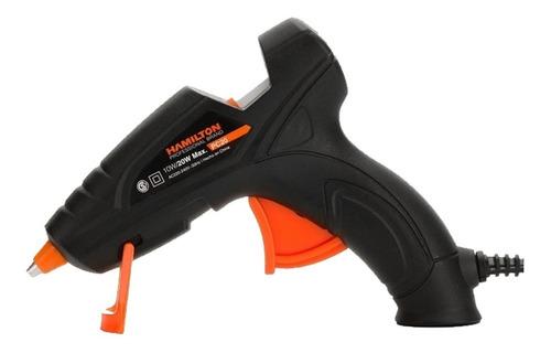 pistola encoladora silicona 20w barras finas 7.2mm hamilton