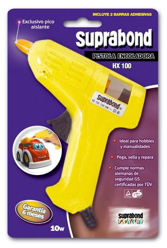 pistola encoladora suprabond hot melt modelo hx 100