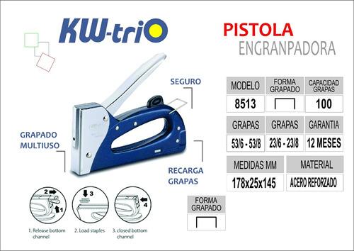 pistola engranpadora kwtrio 8513 con oferta