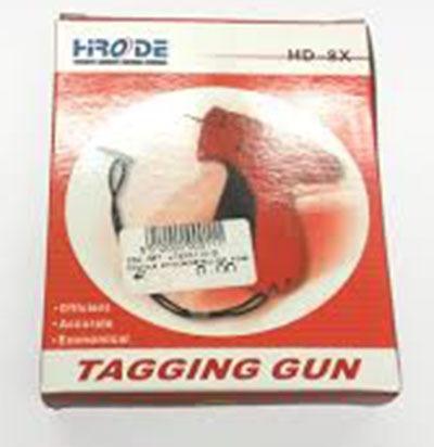 pistola etiquetadora ropa prendas fina + 5000 precintos