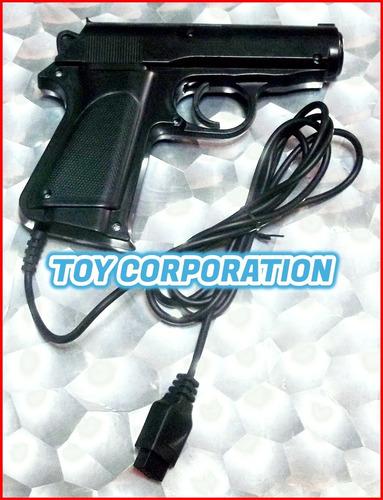 pistola family game ficha 9 pins cable 1,4 metros infraroja
