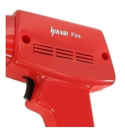 pistola ferro solda estanho hikari fire 100 envio imediato produto show leve agora....