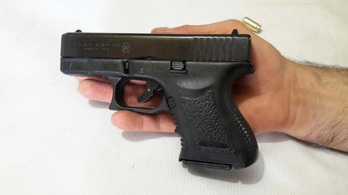 pistola fogueo bruni mini gap glock salva 9 mm detonadora