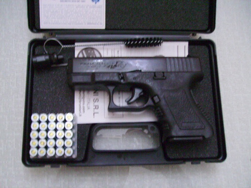 pistola fogueo detonadora glock tactica defensa vigilancia