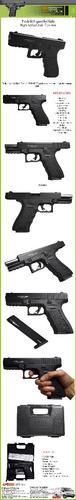 pistola fogueo ekol gediz glock 17  proveedor 15 salvas