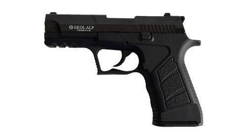 pistola fogueo  expulsa bola goma cal 9mm somete atacante