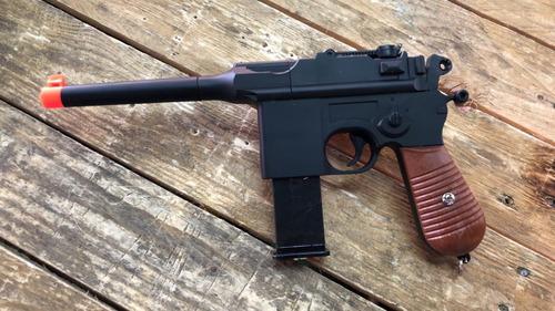 pistola g12 d metal balín de plástico cal 6mm ukarms