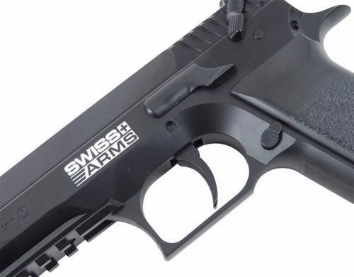 pistola gas co2 jerico® sa941 4.5m + 4 pipetas + 300 balines