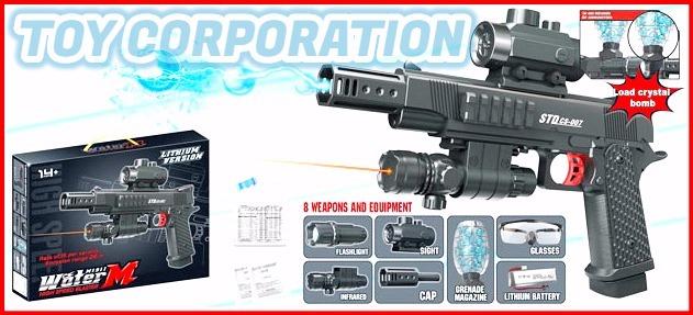 Pistola Gel Blaster Std M1911 Cs-007 Disparo Alta Repetición