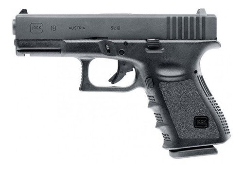 pistola glock 19 co2 airsoft 6mm+2 co2 regalo-envio gratis