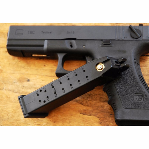 pistola glock we18 airsoft + cargador local en belgrano