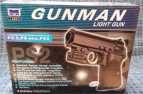 pistola gunman - playstation 1 y playstation 2