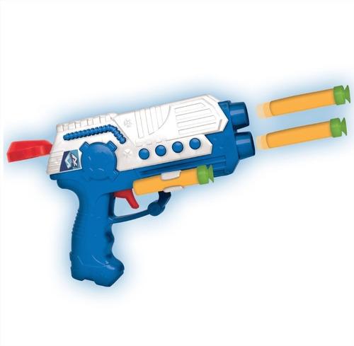 pistola juguete lanza
