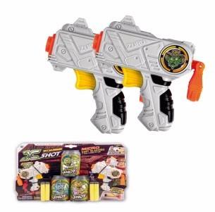 pistola juguete micro x-shot doble vs zombie baby shopping