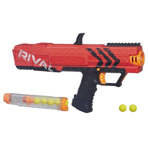 pistola juguete nerf rival apollo xv-700 rojo niños juego
