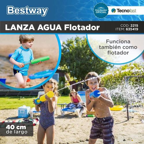 pistola lanza agua water pump 40 cm pileta bestway tecnofast