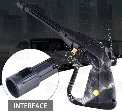 pistola lanza + manguera 6mts para hidrolavadora universal