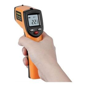 Pistola Laser Medidor De Temperatura C° F° Lcd Procesos