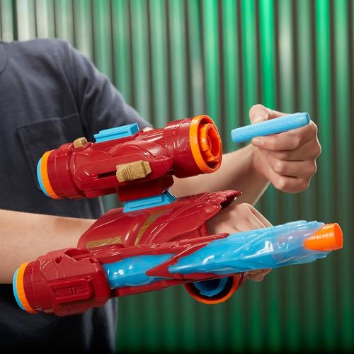 pistola nerf avengers assembler gear iron man e0562 (6389)