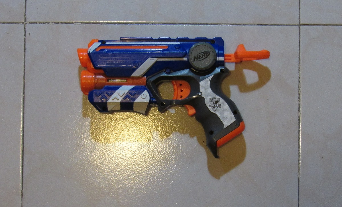 Nerf Modulus IonFire Pistola con 4 dardi