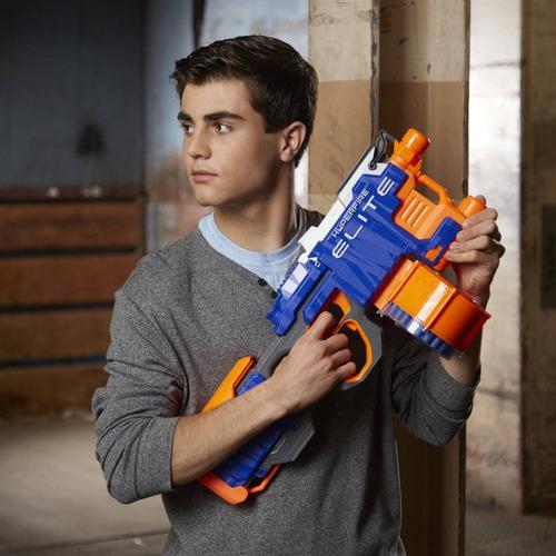 pistola nerf n-strike elite hyperfire blaster xtreme