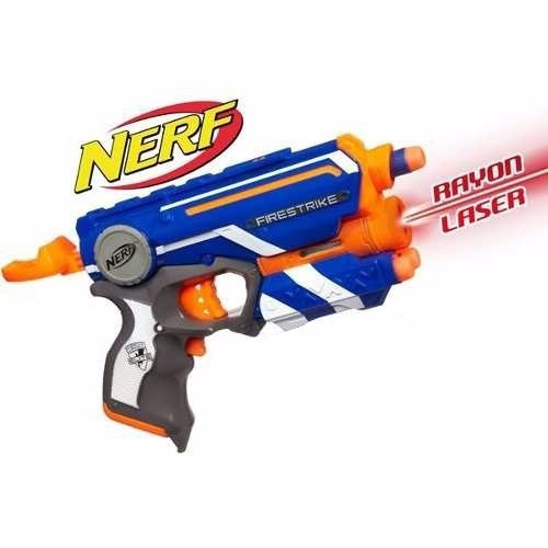 Pistola Nerf Firestrike C/ Láser