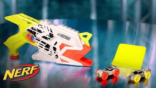 pistola nerf nitro autos aerofury ramp hasbro / stgo. boxer