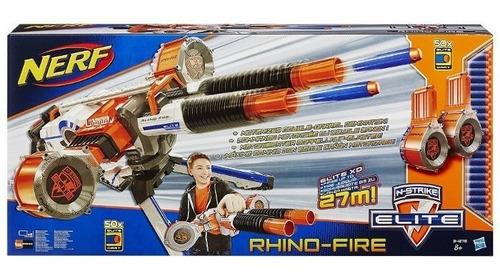 pistola nerf rhinofire ref: 34276 original hasbro