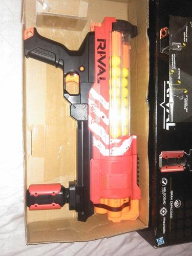 pistola nerf rival artemis 3000 (equipo rojo)