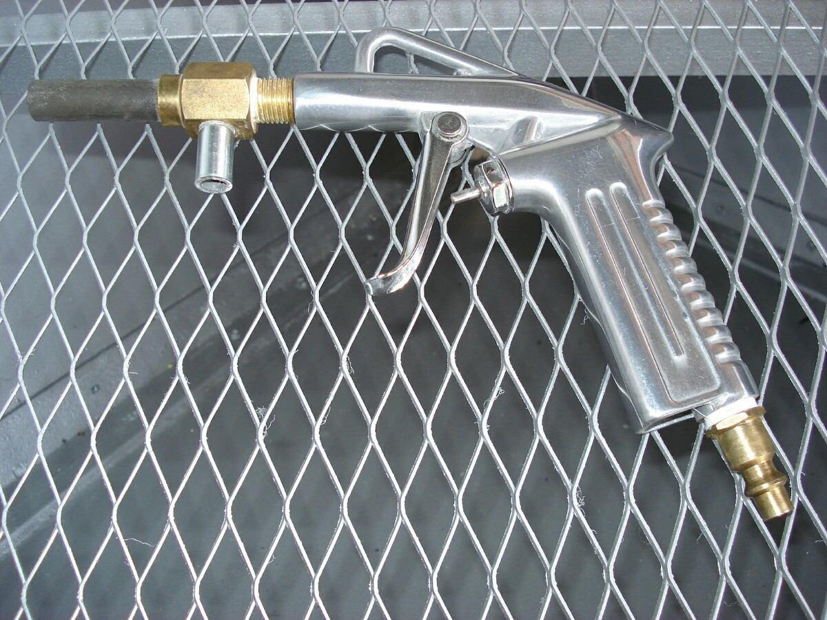 Pistola para cabinas sandblasting arenado chorro arena - Pistola chorro arena ...