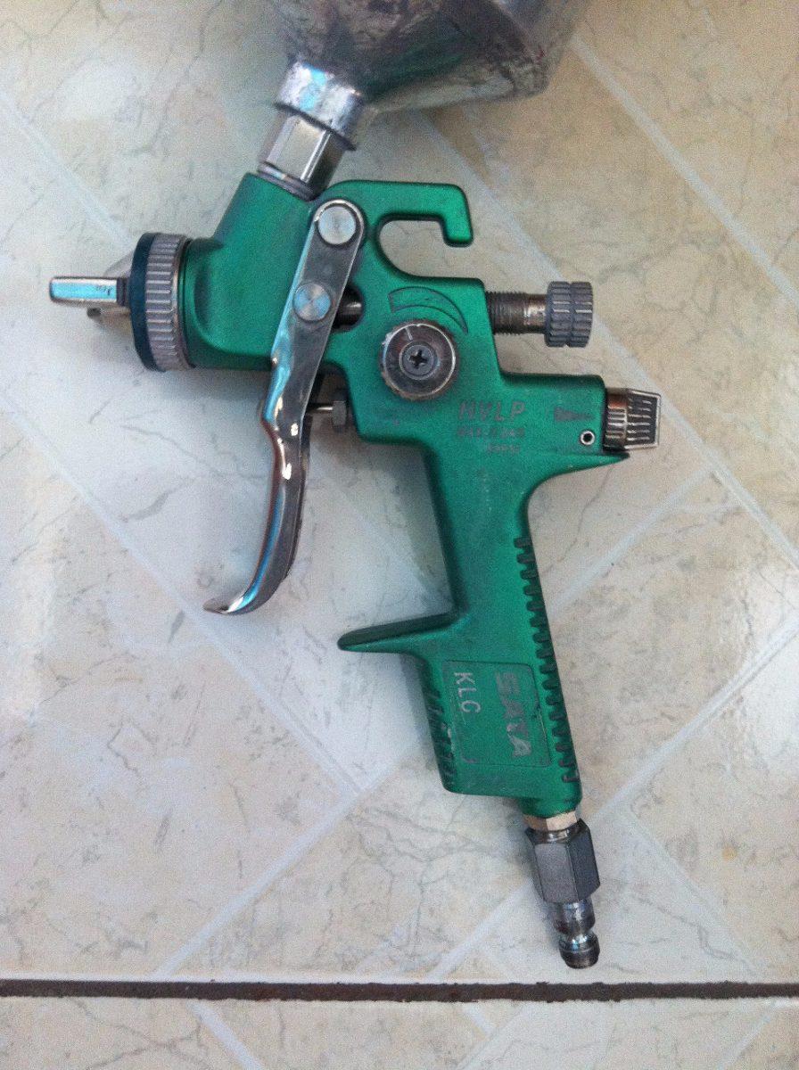Pistola para pintar alemana sata hvlp 1 4 modelo klc - Pistola para pintar precios ...
