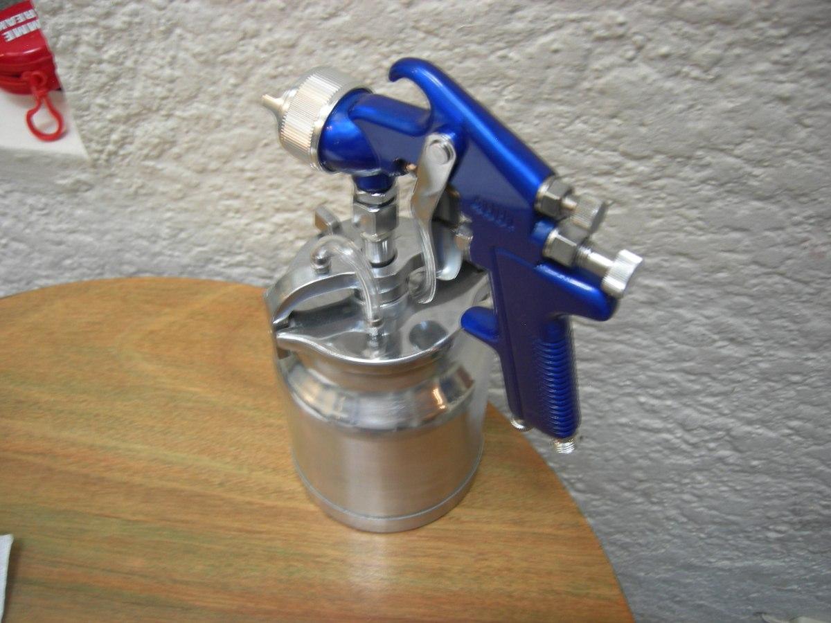Pistola para pintar de aire comprimido trabajo profesional - Pistola de pintar ...