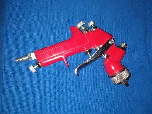 pistola para pintar de gravedad