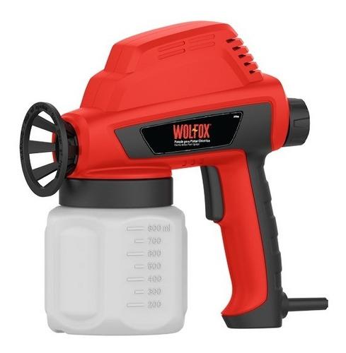 pistola para pintar eléctrica   wolfox  wf0598