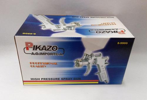 pistola para pintar gravedad pikazo s990g