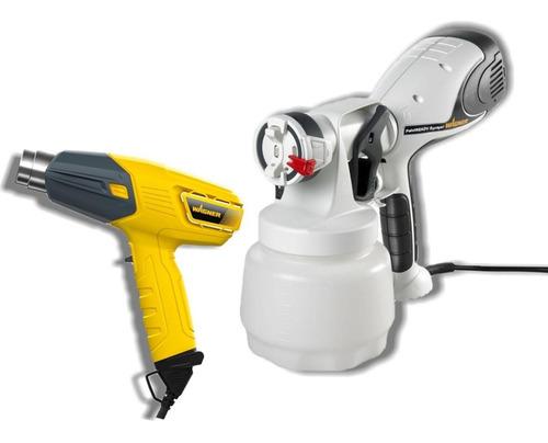 pistola para pintar paintready sprayer + furno 300 wagner
