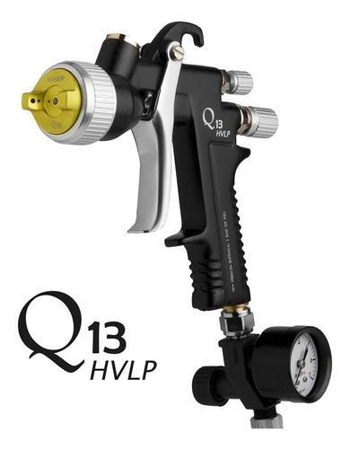 pistola para pintar soplete  q13 hvlp 1.3mm maer mm