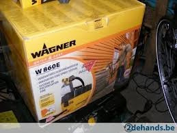 pistola para pintar wagner w860e nuevas - importadas